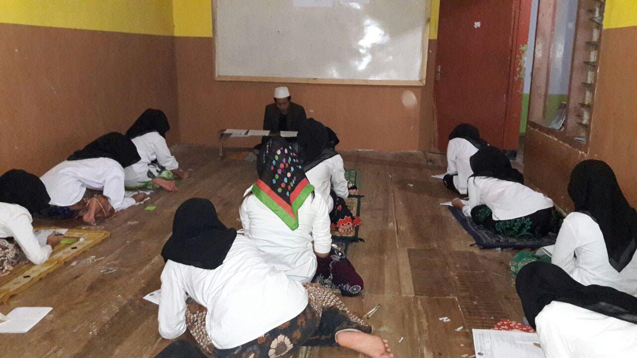 Ujian Madrasah Diniyah Semester 1