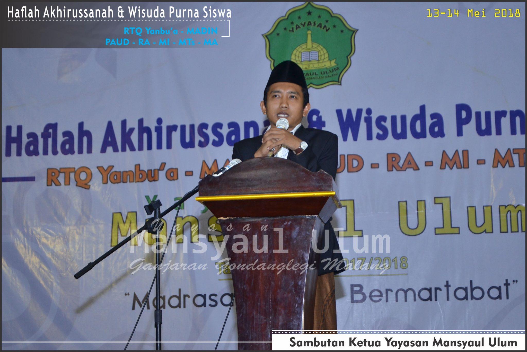 Doc. Haflah Akhirussanah & Wisuda Purna Siswa (13-14 Mei 2018)