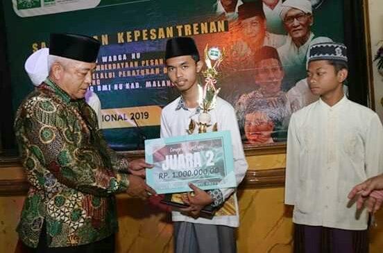 Meraih Juara dalam lomba Hari Santri Nasional 2019 Se Malang Raya